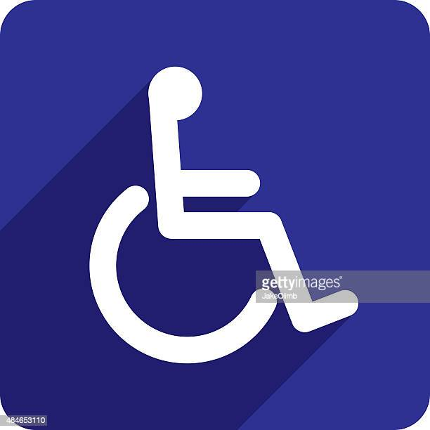 Wheelchair Icon Silhouette