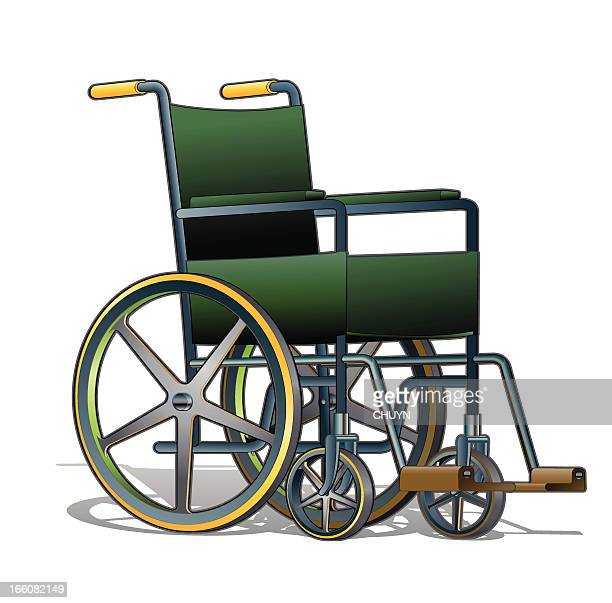 wheelchair - wheelchair stock illustrations, clip art, cartoons, & icons