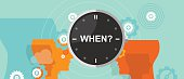when timing question mark business concept decision strategy