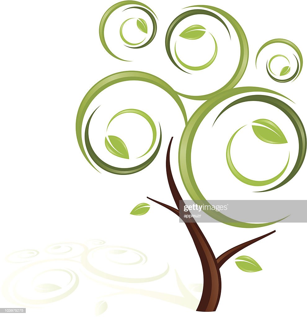 Whimsical Stylized Tree