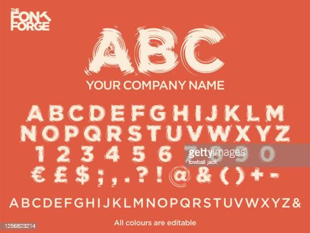 stockillustraties, clipart, cartoons en iconen met whirlpool tekststijl lettertype voor uw bedrijfslogo. vector stock illustratie. kleuren gemakkelijk bewerkbaar. - abc