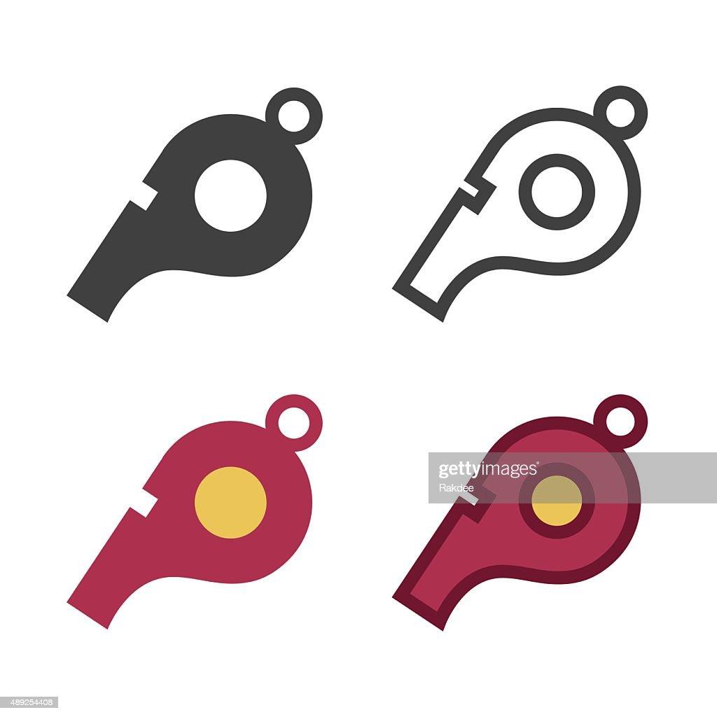 Whistle Icon : stock illustration