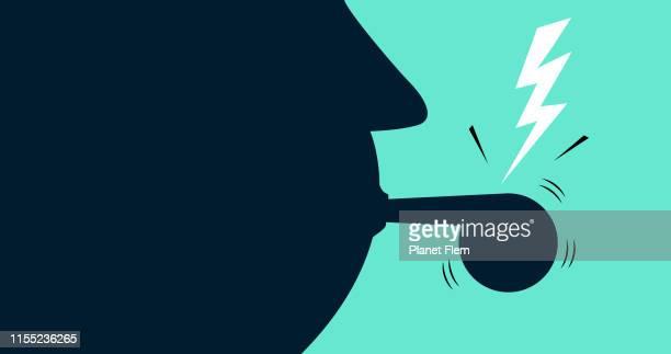 whistleblower - referee stock illustrations