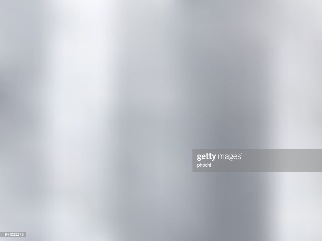 White and gray gradient blurred style background. Silver metal material texture.