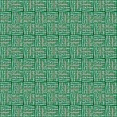 White and green fabric textile material texture pattern for Realistic graphic design wallpaper background. Seamless ornament. Vector illustration
