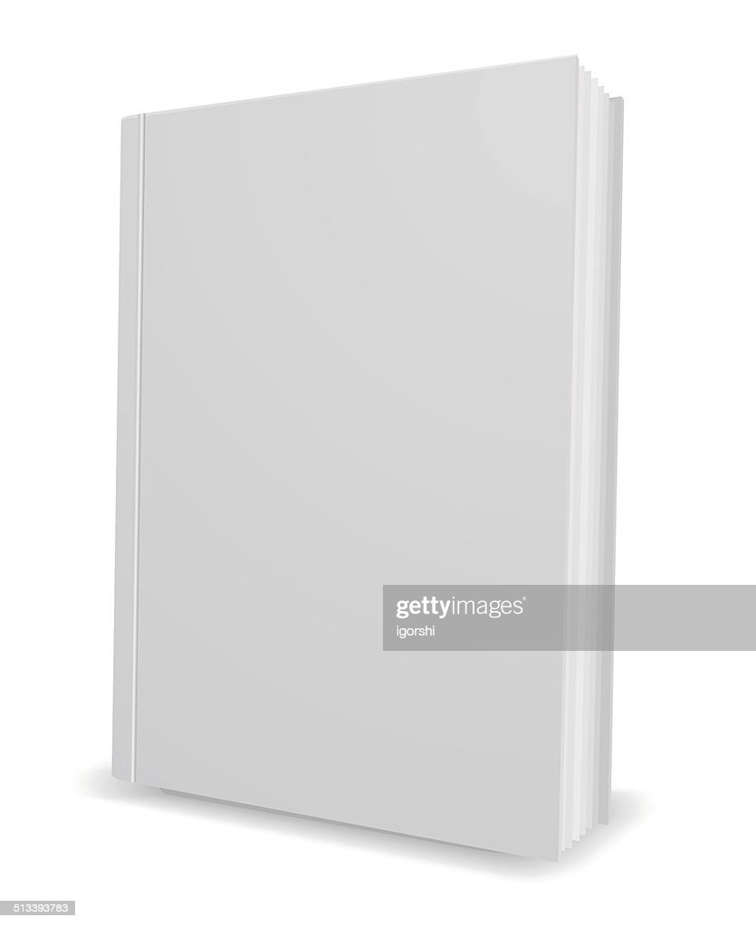 white book 3d icon