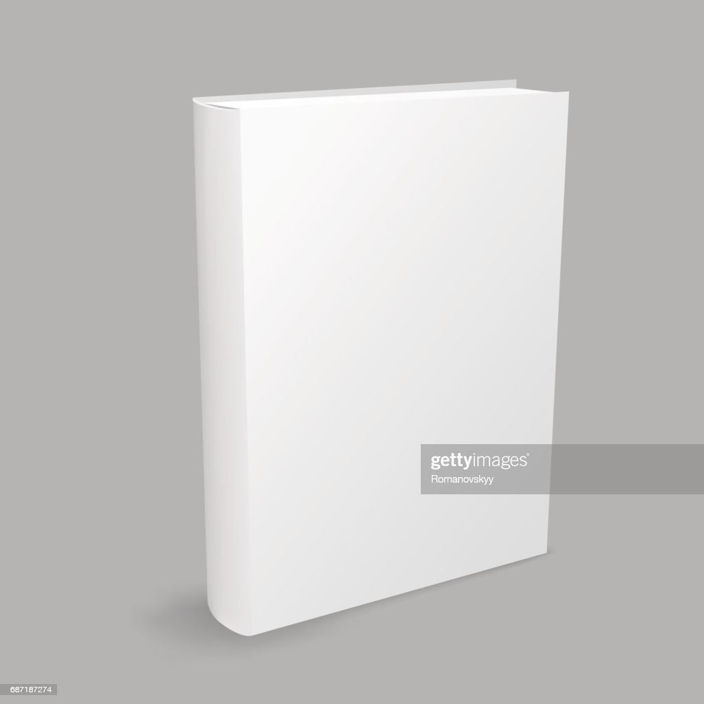white book gray background