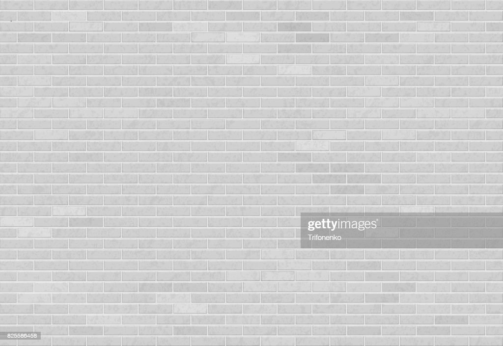 White brick wall.