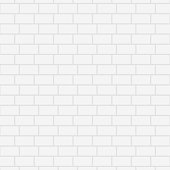 White ceramic brick wall