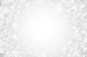 White Christmas Holiday Vector Wallpaper