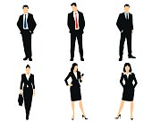 White collar workers