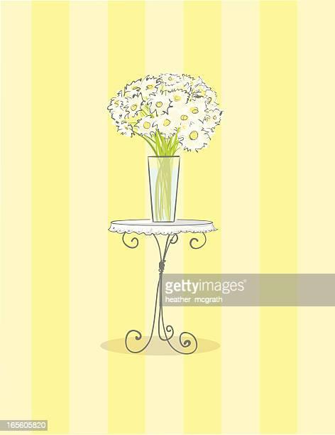 Weiße Daisy bouquet