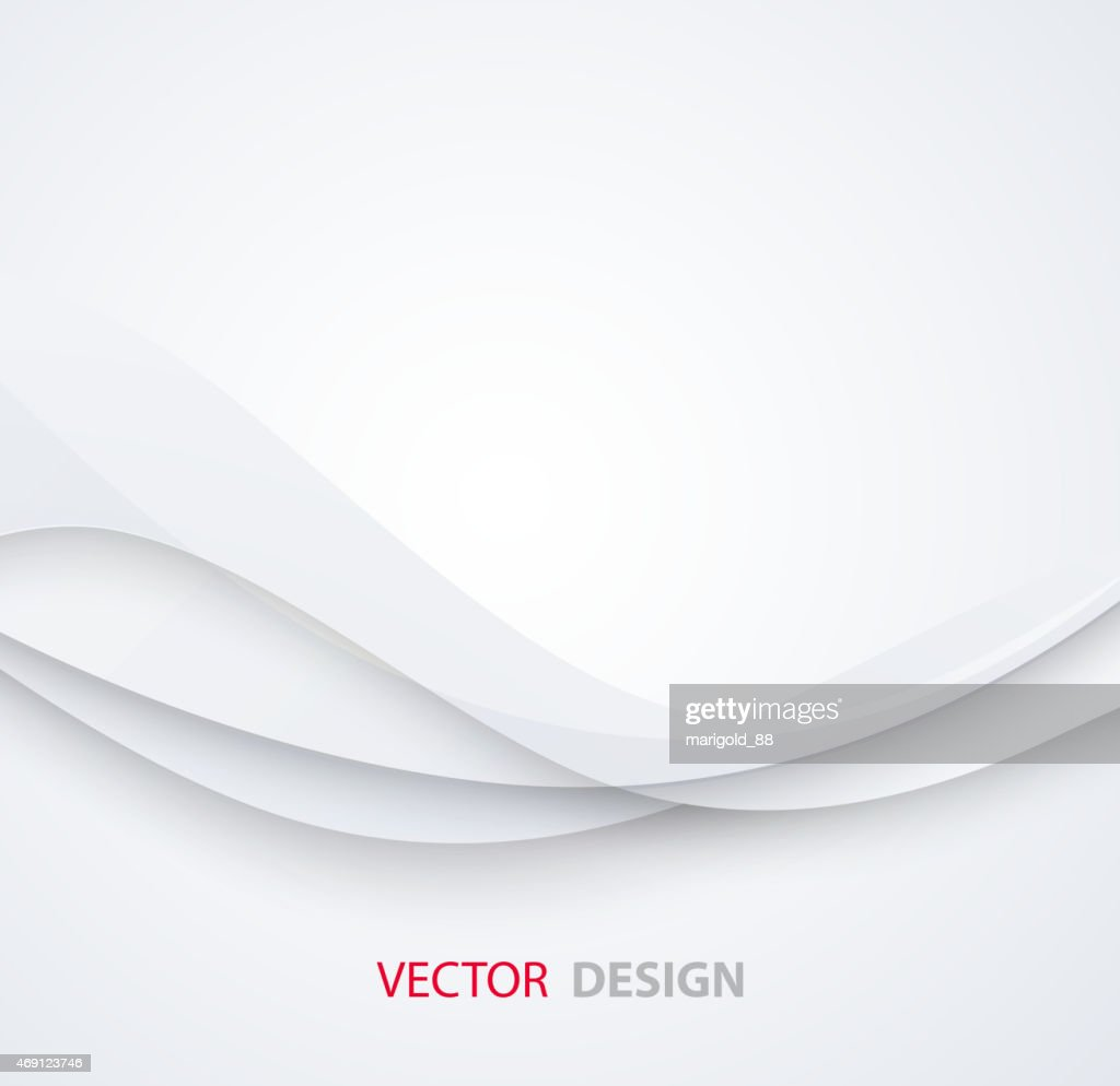 White elegant business background