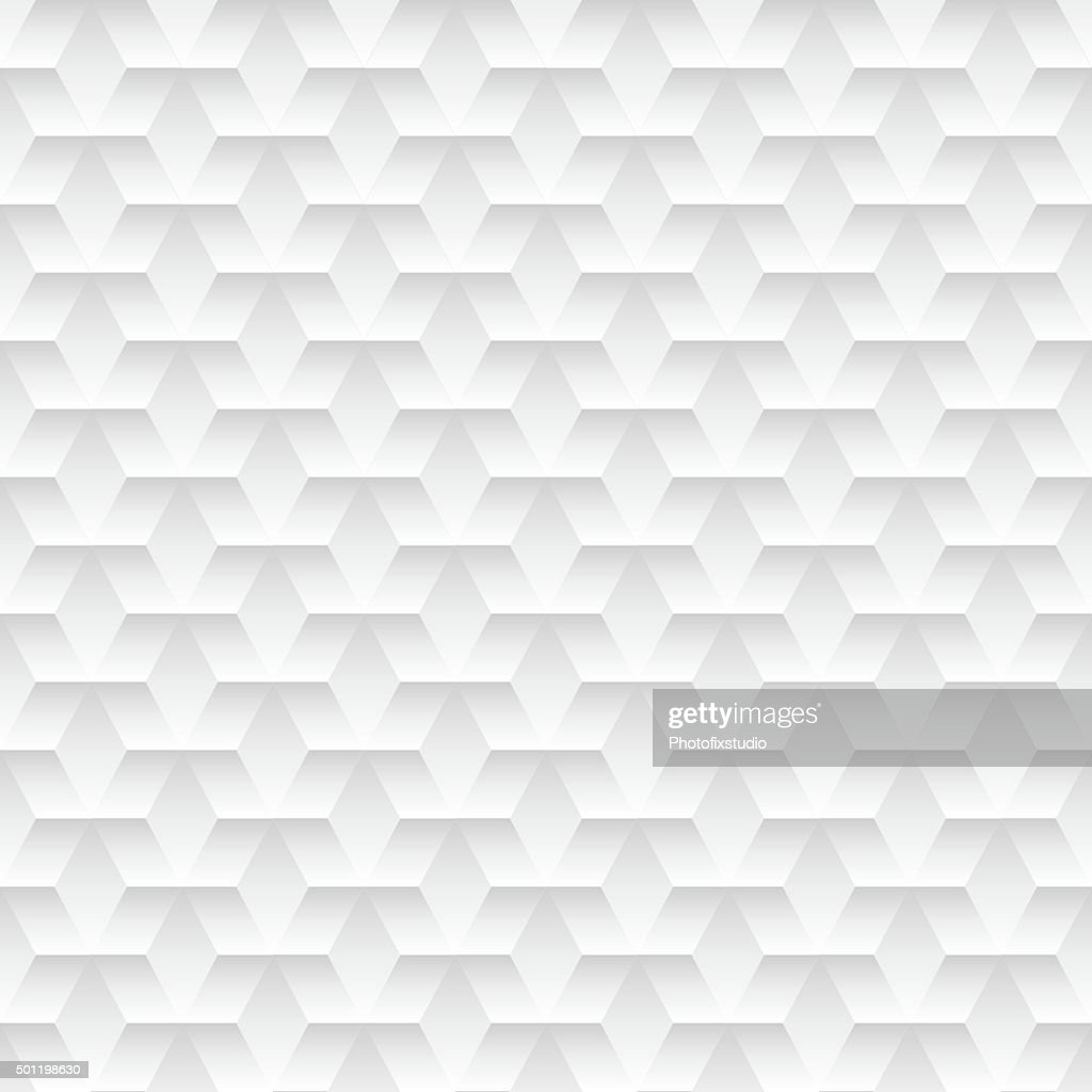 White embossed abstract design in a seamless pattern