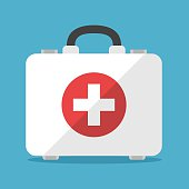 White first aid kit