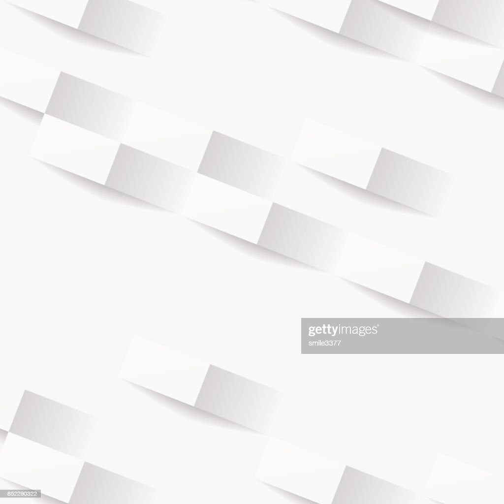 White geometric texture, Abstract background