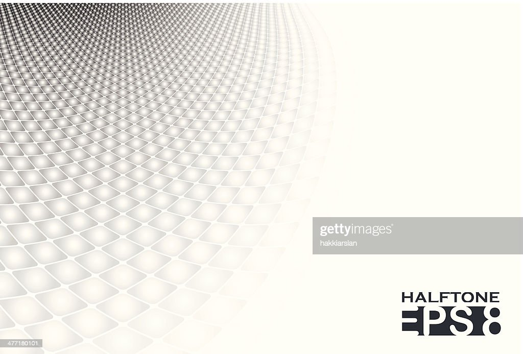 White & grey abstract halftone background
