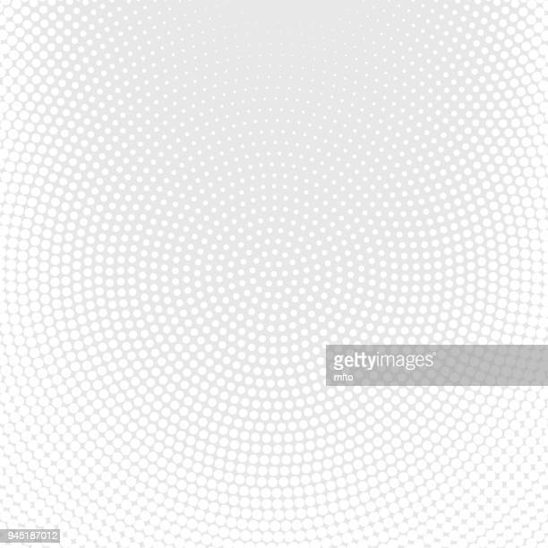 White halftone spotted background