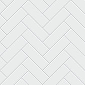 White herringbone parquet seamless pattern. Classic endless floor decoration