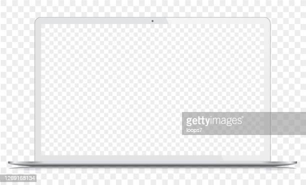 ilustraciones, imágenes clip art, dibujos animados e iconos de stock de portátil blanco - tableta gráfica