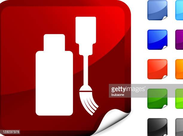 white out internet royalty free vector art - correction fluid stock illustrations