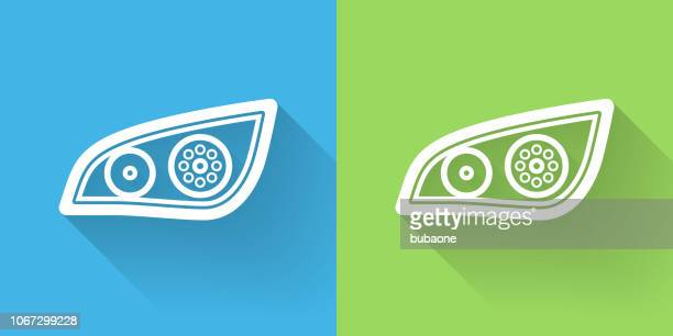 white out roller icon with long shadow - correction fluid stock illustrations