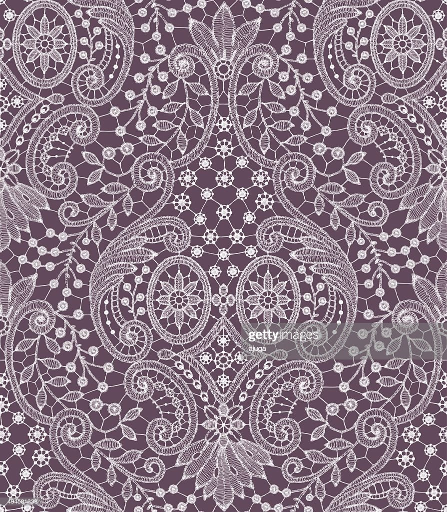 White Seamless Pattern.