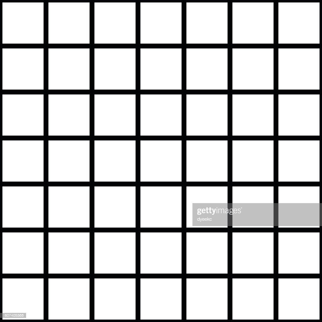 White Square Tiles Texture Vector Art