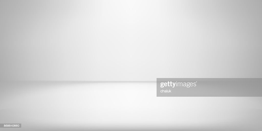White studio room background spotlight vector gradient photobox lightbox backdrop