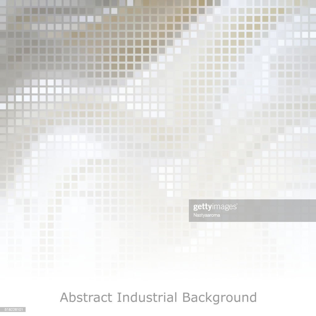 white technological background