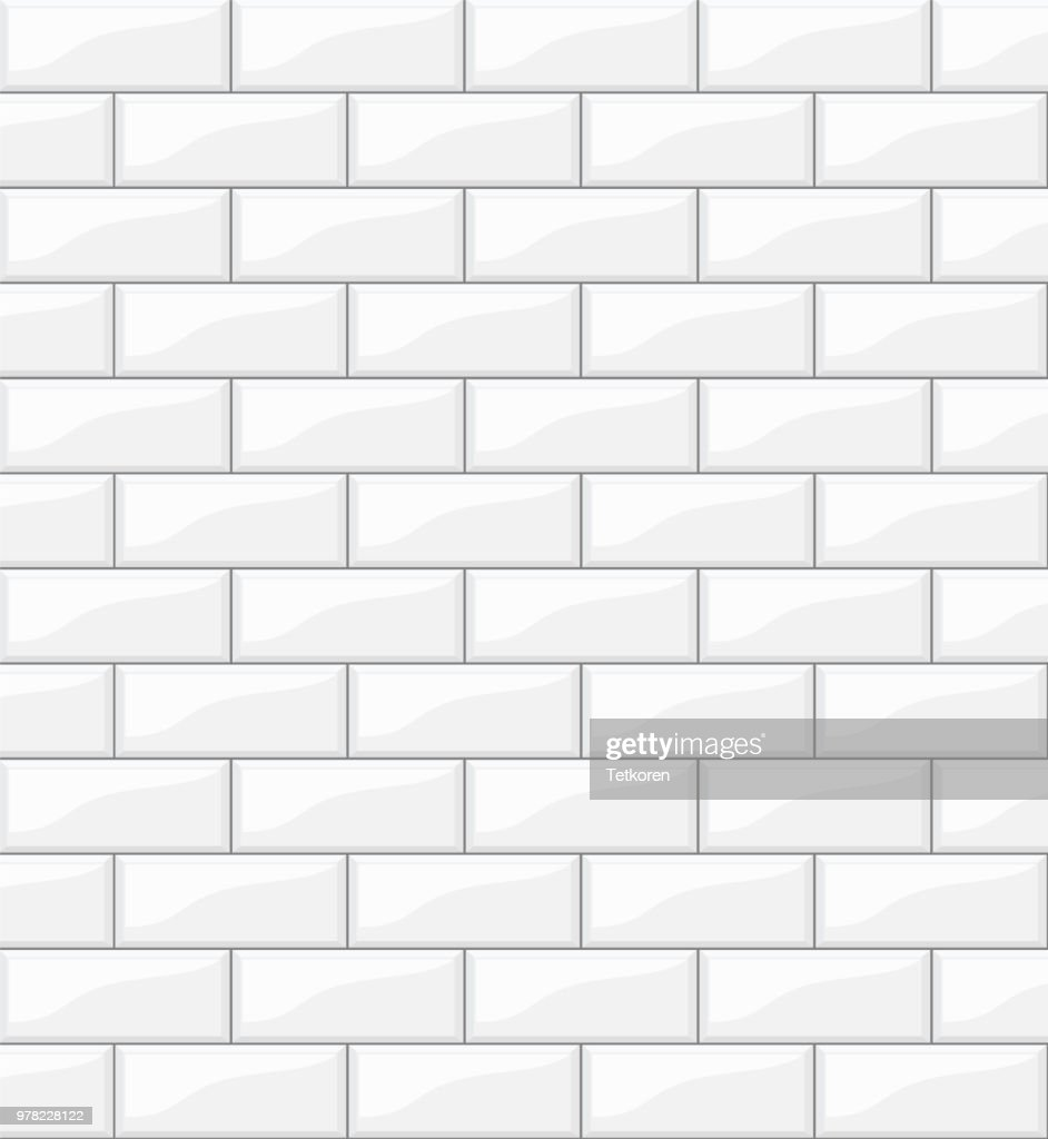 white tiles background for your design, stock vector illustration