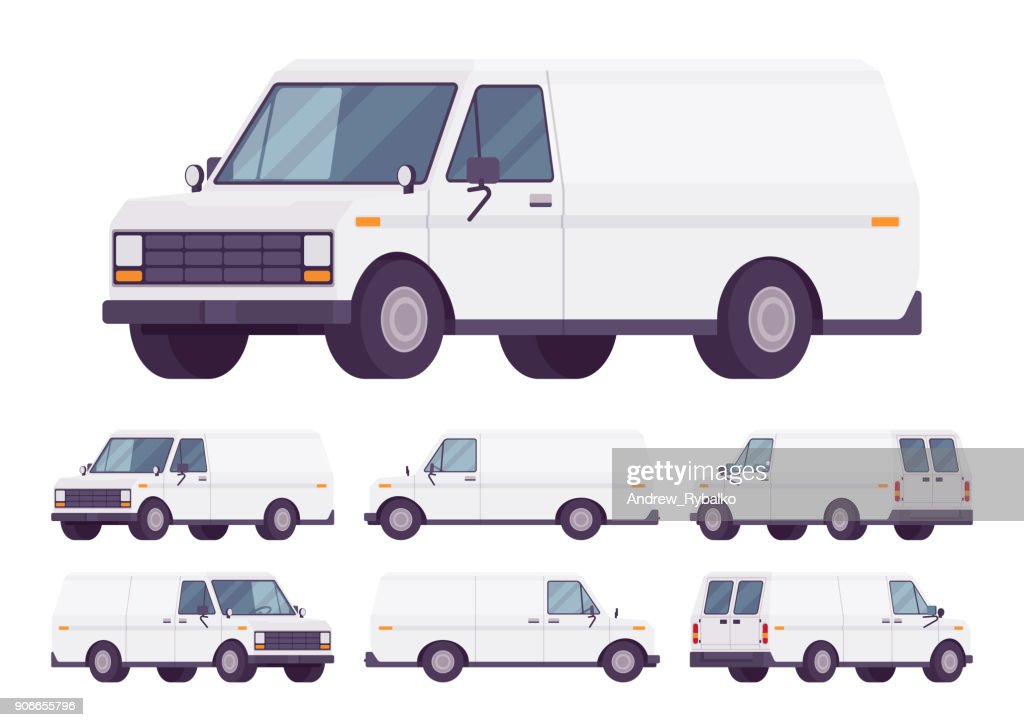 White van set