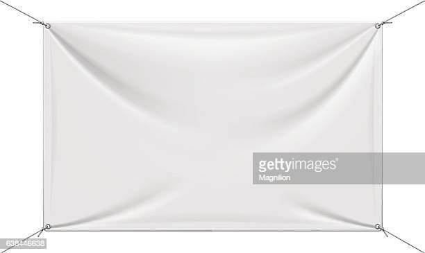 White Vinyl Banner