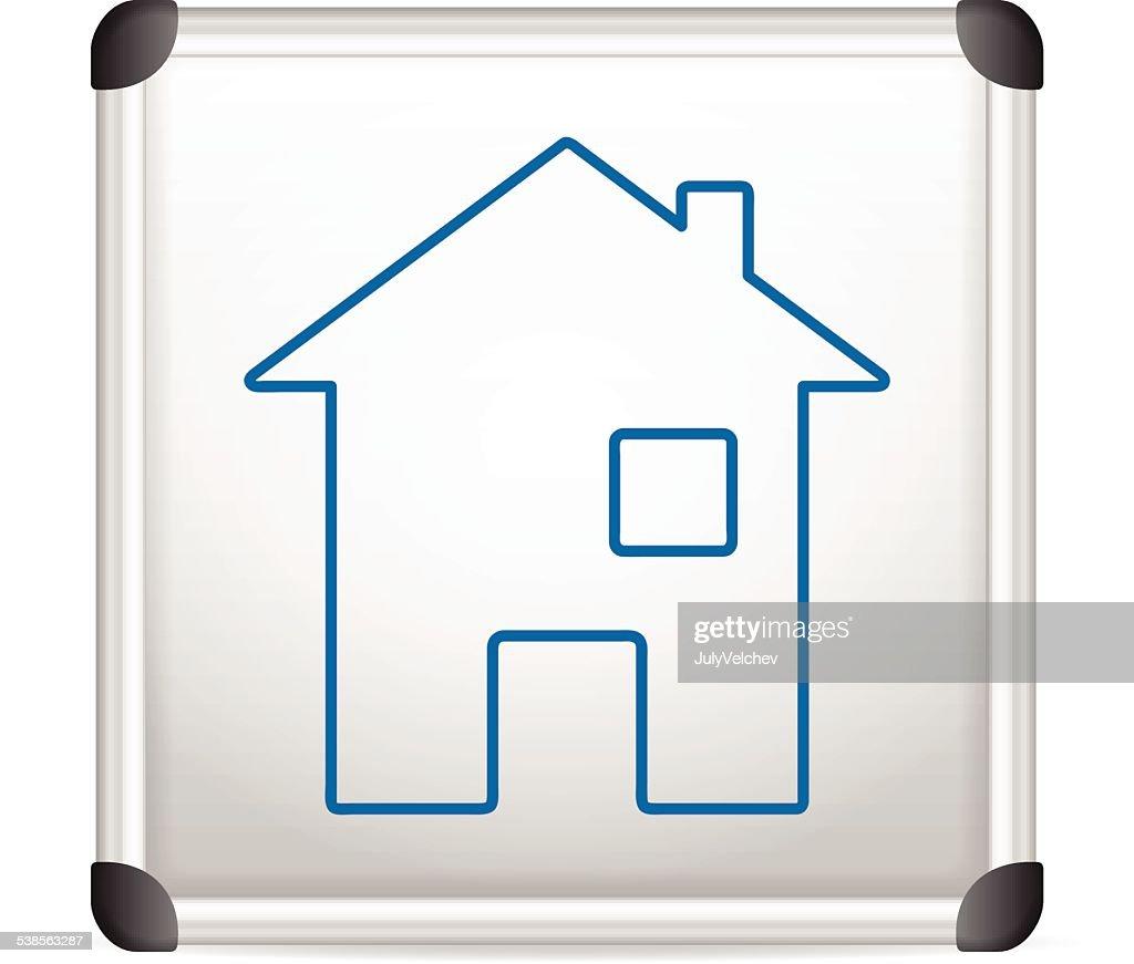 whiteboard house