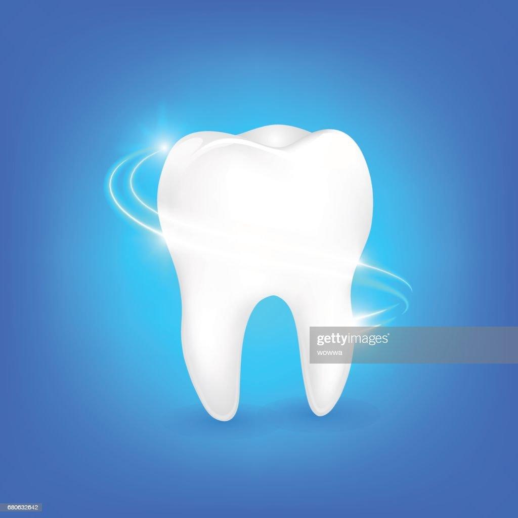Der Menschliche Zahn Bleaching Vektorgrafik   Getty Images