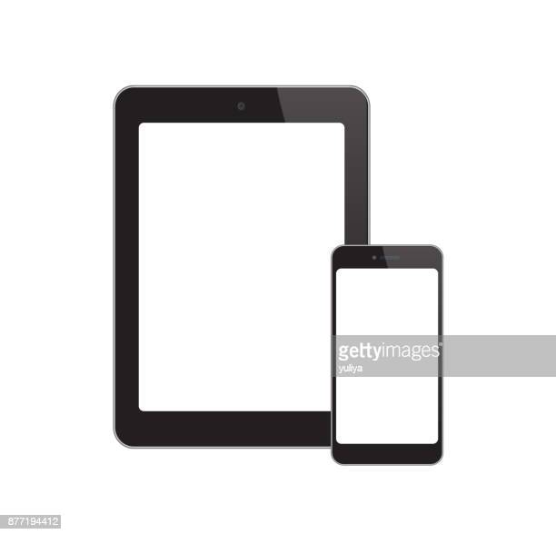 White-Screen-Phone-Tablet