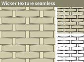Wicker texture seamless