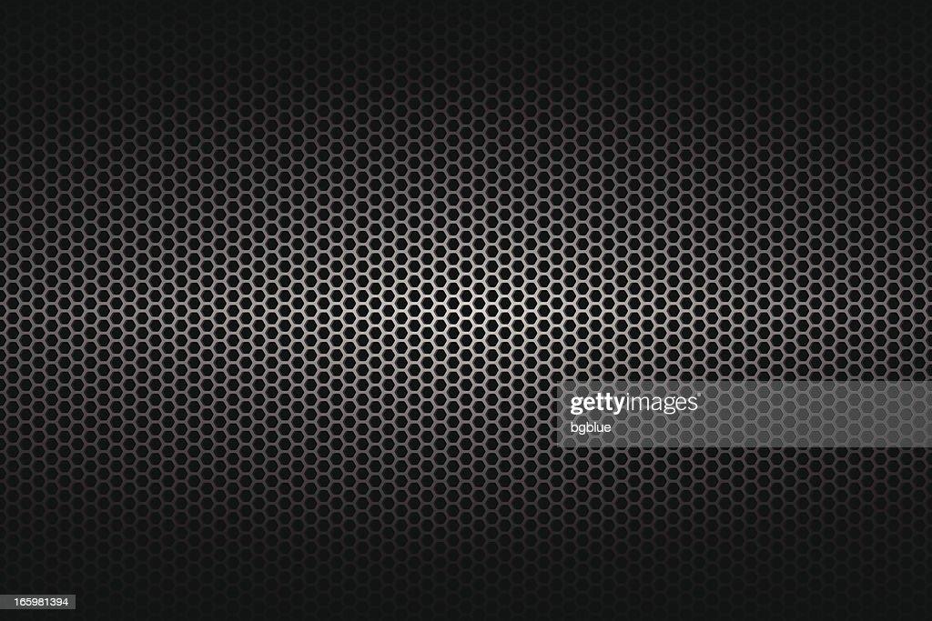 Metallic-Struktur am weiten Hintergrund : Stock-Illustration