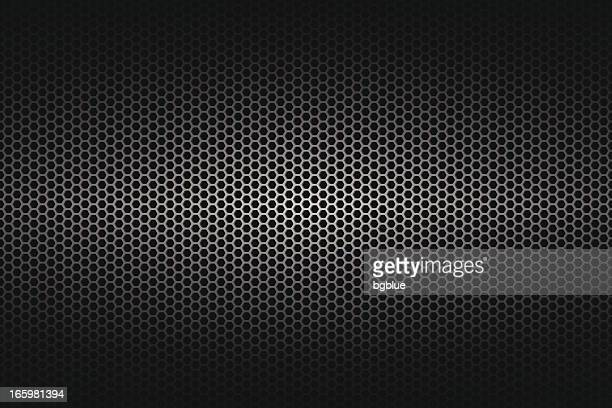 a wide background of metallic texture - metal stock illustrations