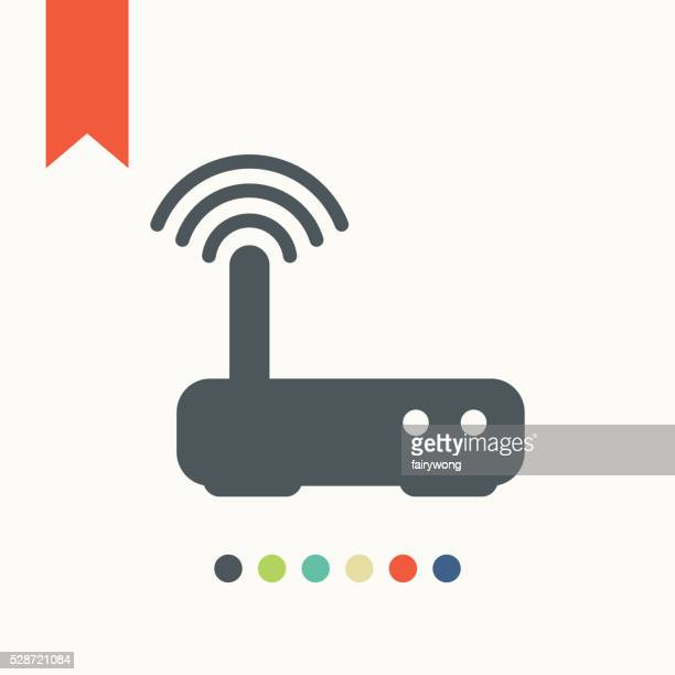 Routeur icône de l'accès Internet sans fil