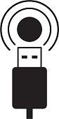 Wi-Fi USB Icon