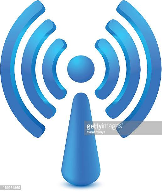 wifi - podcasting stock illustrations, clip art, cartoons, & icons