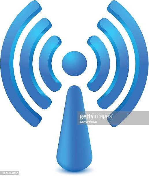 ilustraciones, imágenes clip art, dibujos animados e iconos de stock de wifi - torres de telecomunicaciones