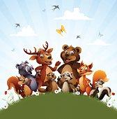 Wild Animal Characters