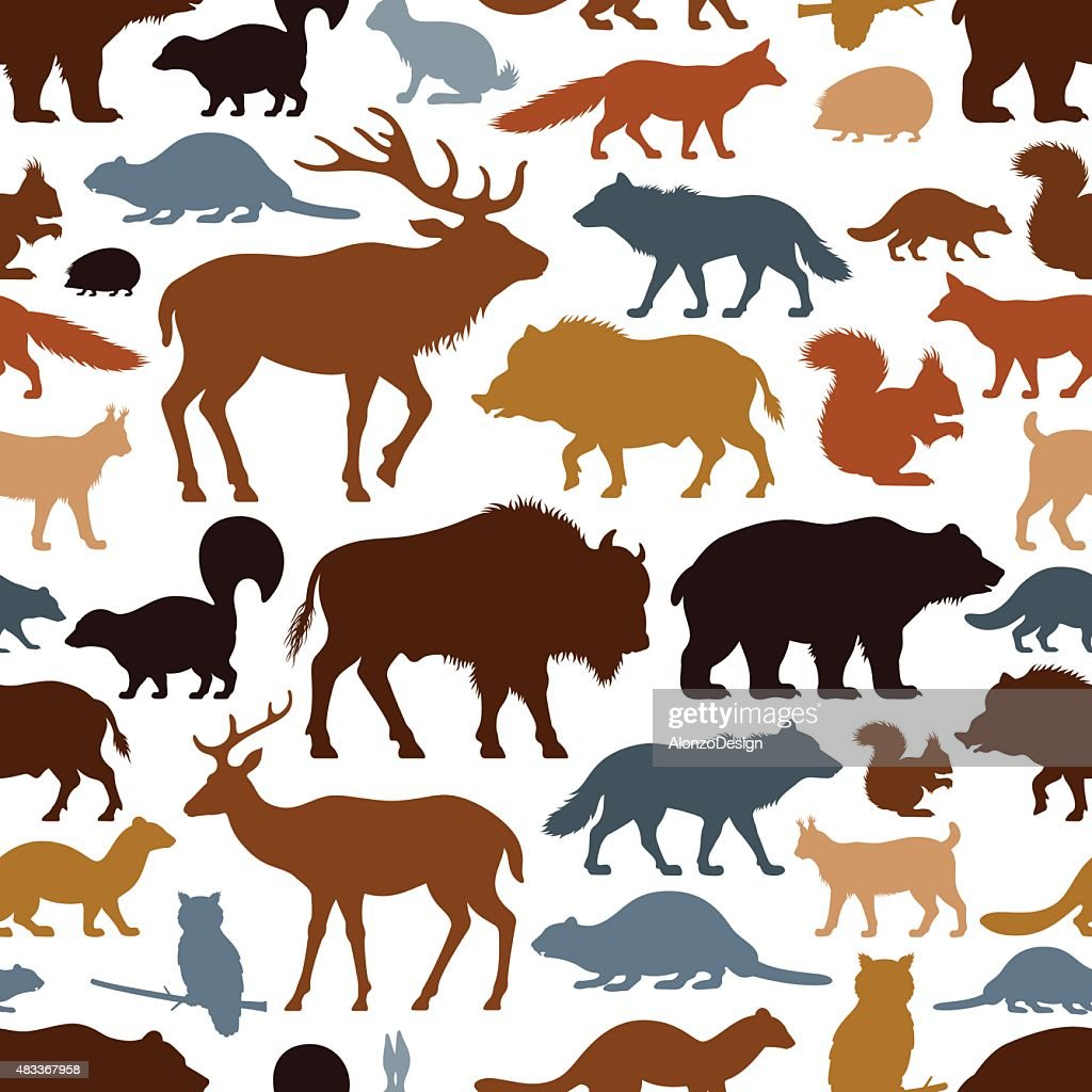 Wild Animals Pattern