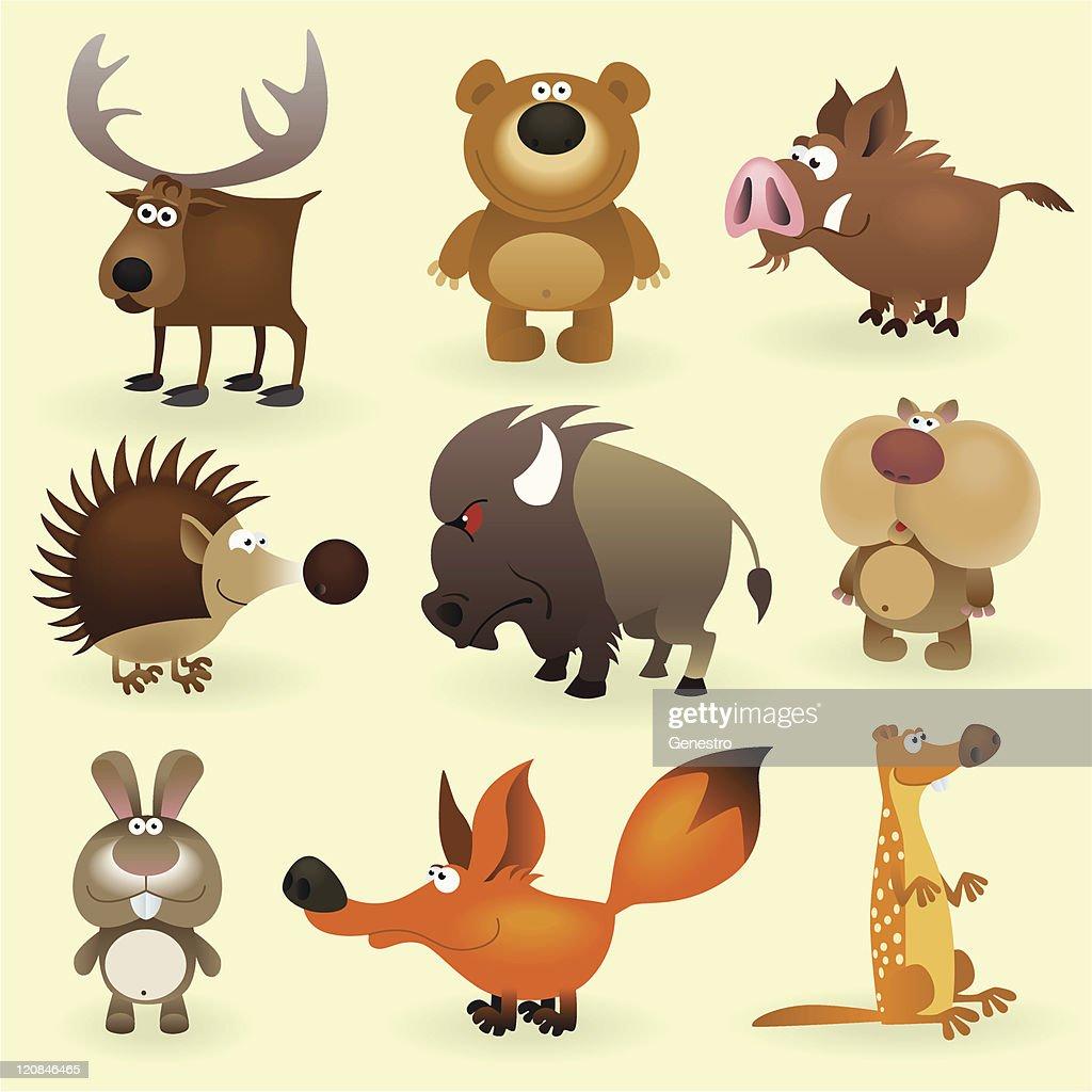 Wild animals set #2