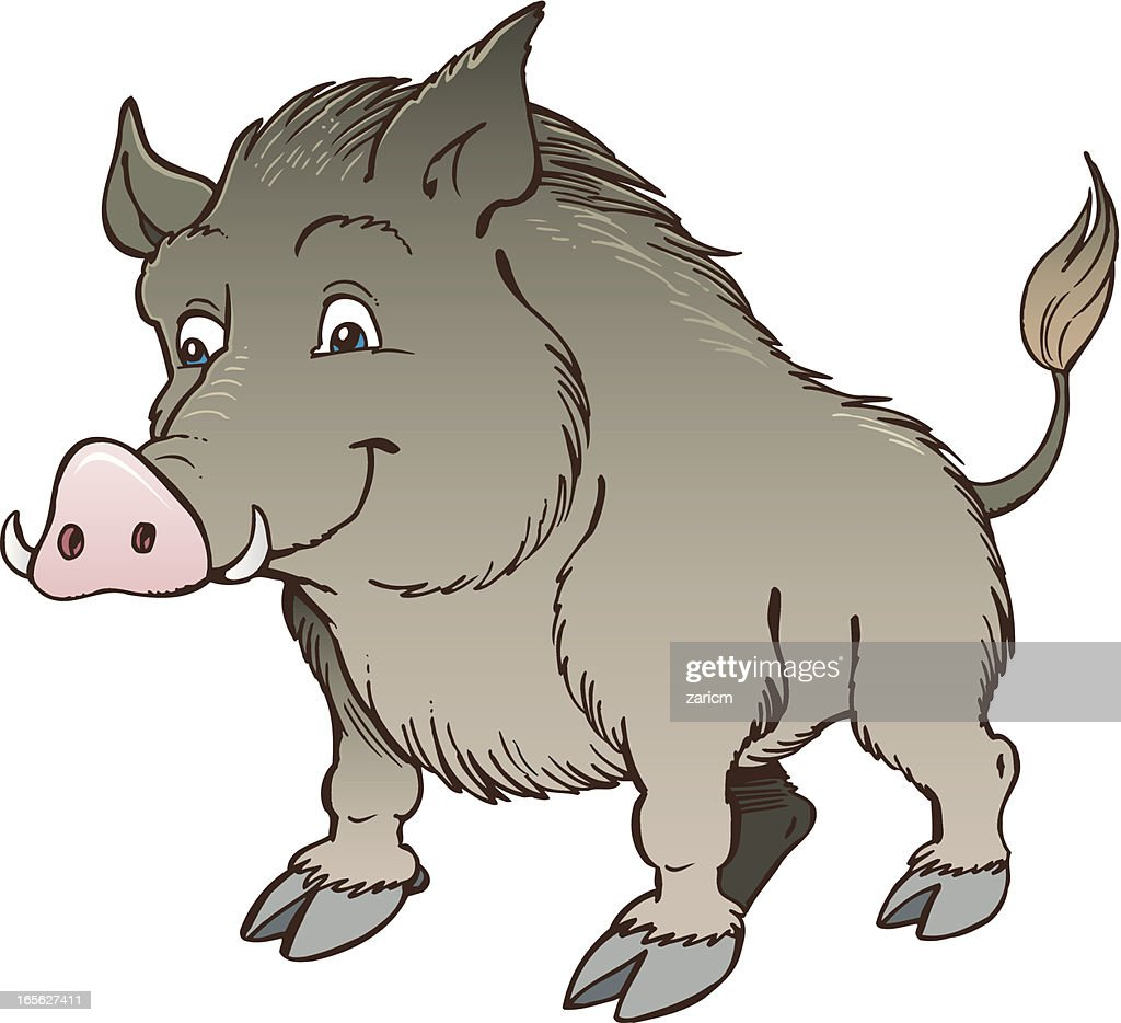 free wild boar clipart and vector graphics clipart me rh clipart me Wild Boar Attacks wild boar head clipart