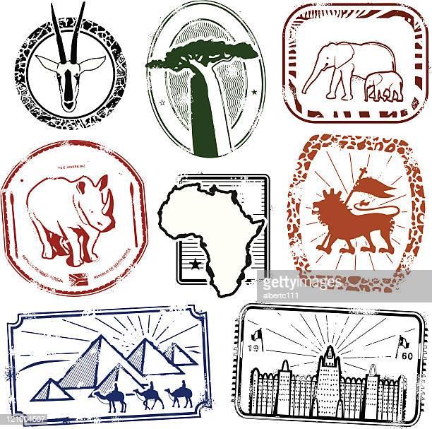 wild exotic africa - mali stock illustrations, clip art, cartoons, & icons
