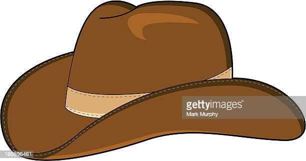 wild west cowboy hat - cowboy hat stock illustrations, clip art, cartoons, & icons
