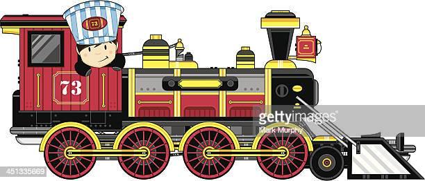Wild West Style Train & Driver
